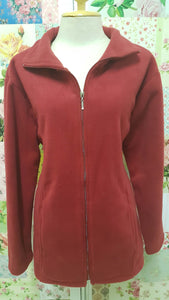 Red Fleece Jacket AC058