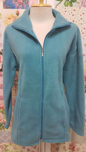 Turquoise Fleece Jacket AC047