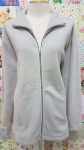 Beige Fleece Jacket AC045