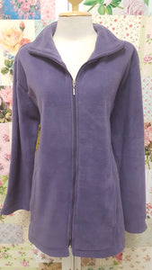 Purple Fleece Jacket AC053