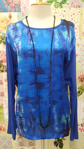 Royal Blue Blue Top MY084