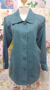 Petrol Blue Jacket YD041