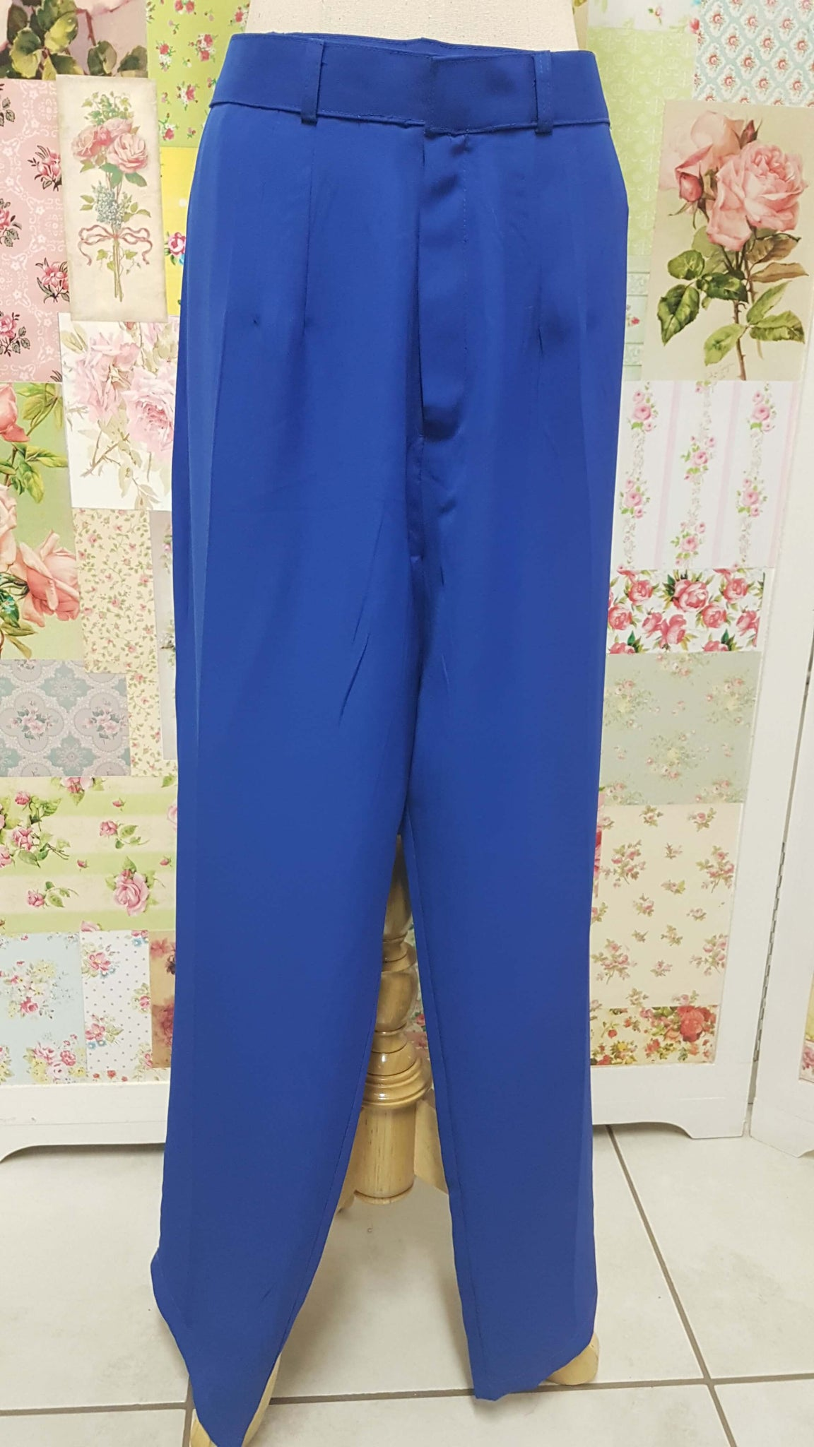 Royal Blue Pants BK0228
