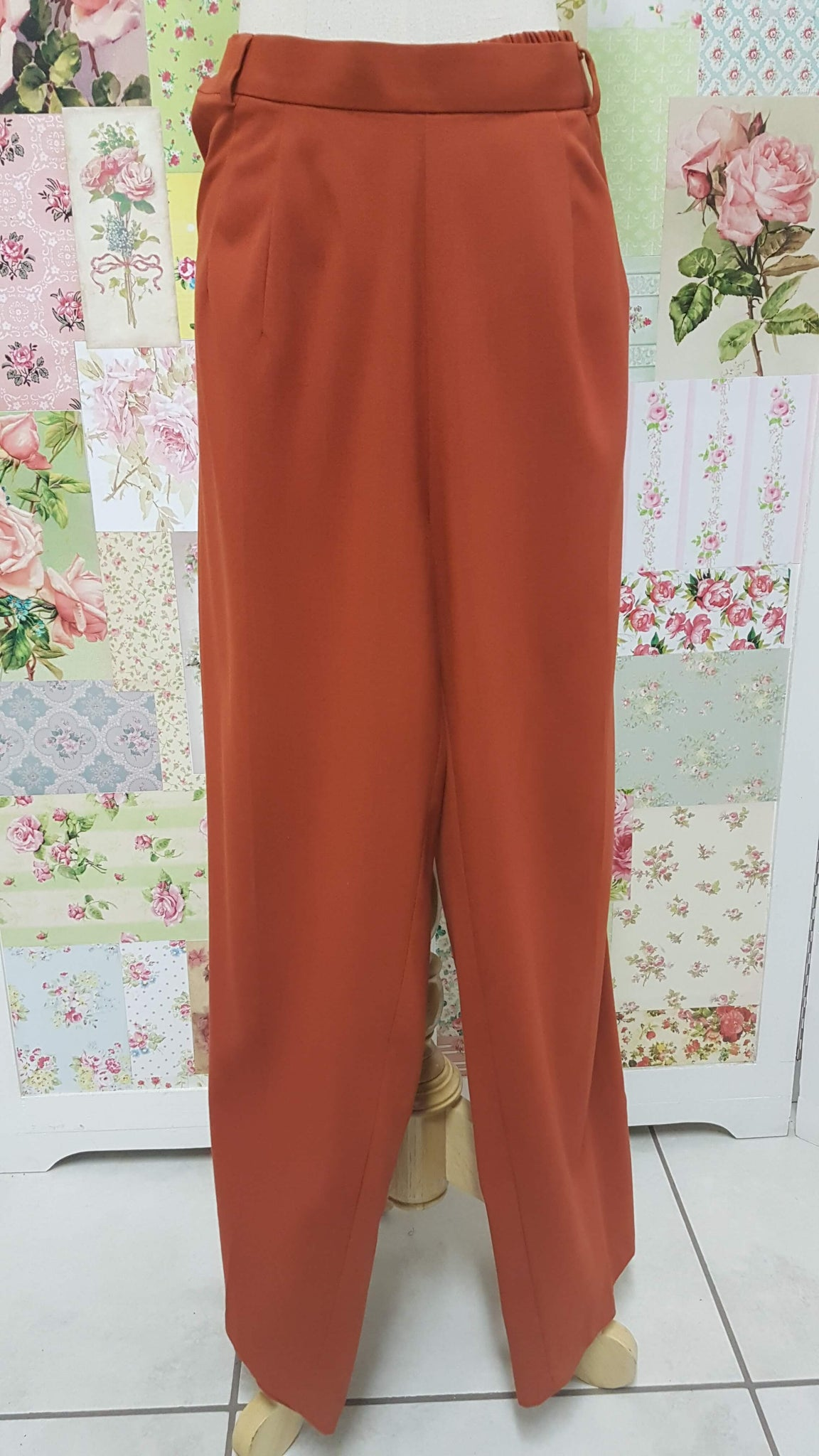 Burned Orange Long Pants BK0238