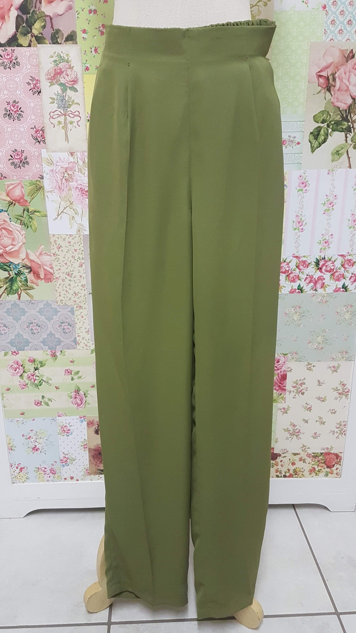 Olive Green Pants BK0269