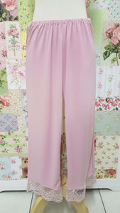 3/4 Dusty Pink Pants LR0267