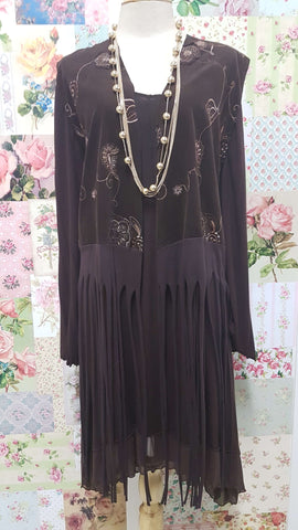Chocolate Brown 2-Piece LR063