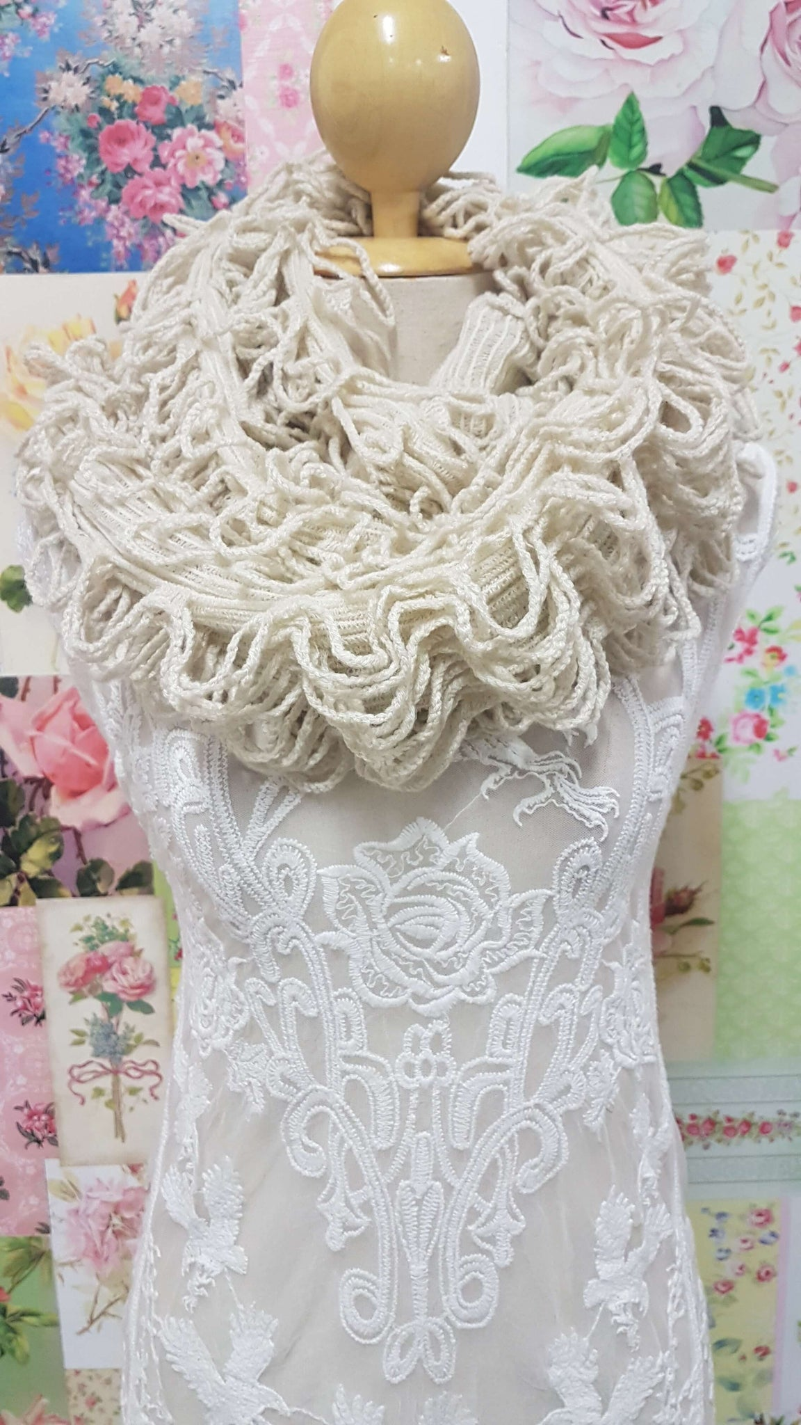 Knitted Scarf SE0170