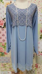 Baby Blue Top LR0447