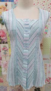 Light Blue Pastel Top BK0423