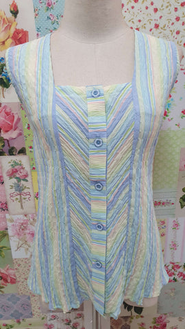 Pastel Stripe Top BK0421