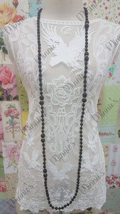 Black Necklace JU025