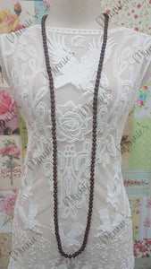 Brown Necklace JU027