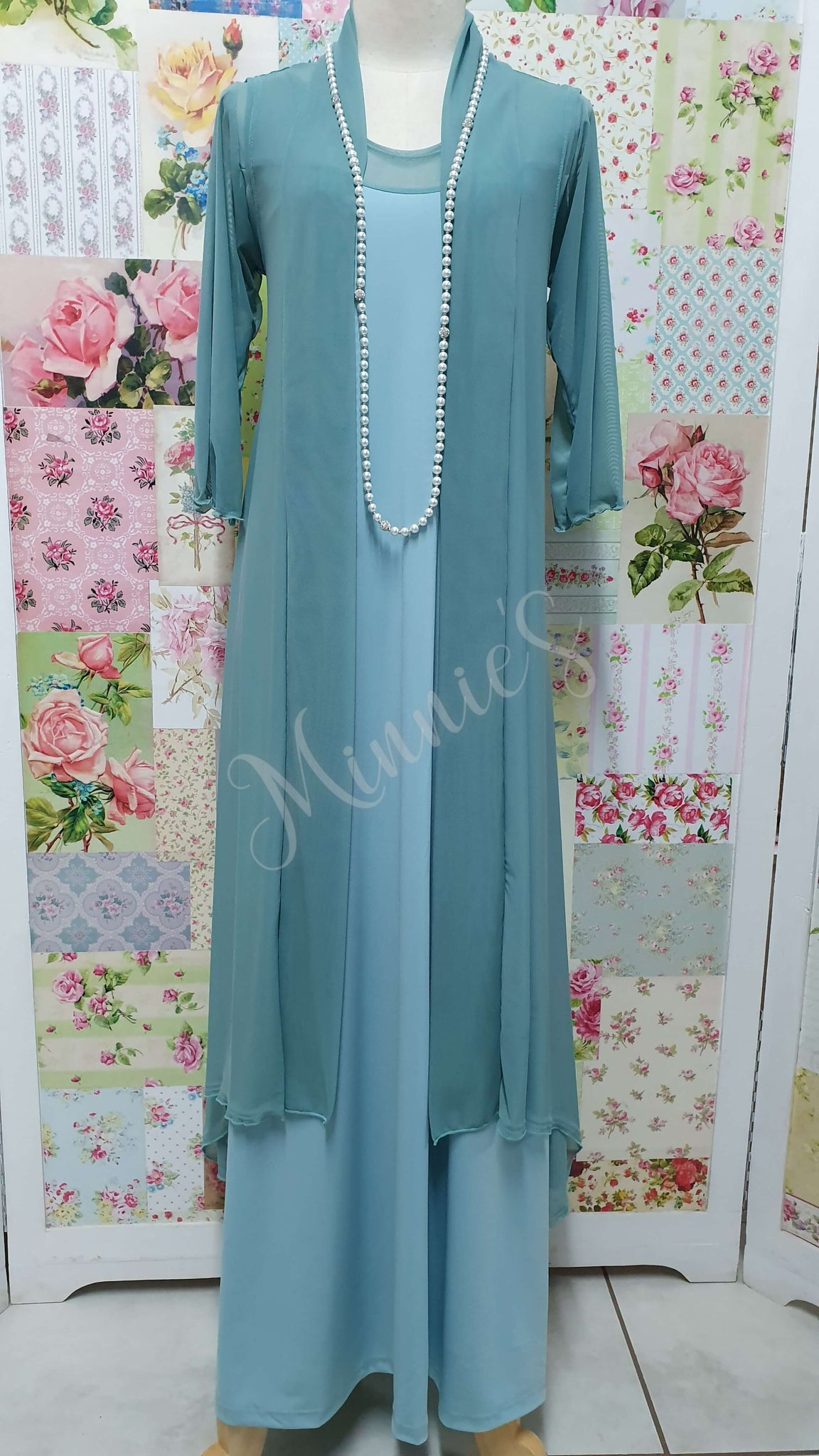 Duck Egg 2-Piece Dress Set CH083