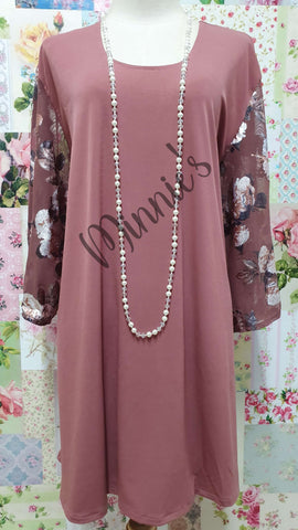 Dusty Pink Top MB0175