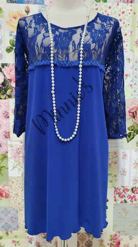 Royal Blue Top LR0468