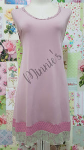 Dusty Pink Sleeveless Top ML0226