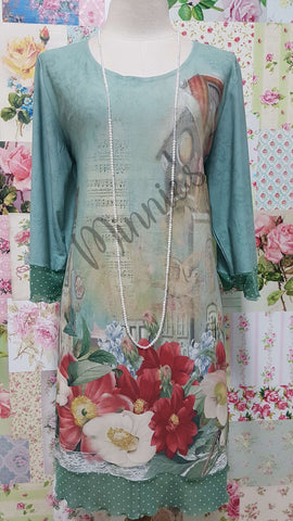 Mint Green Top ML0240