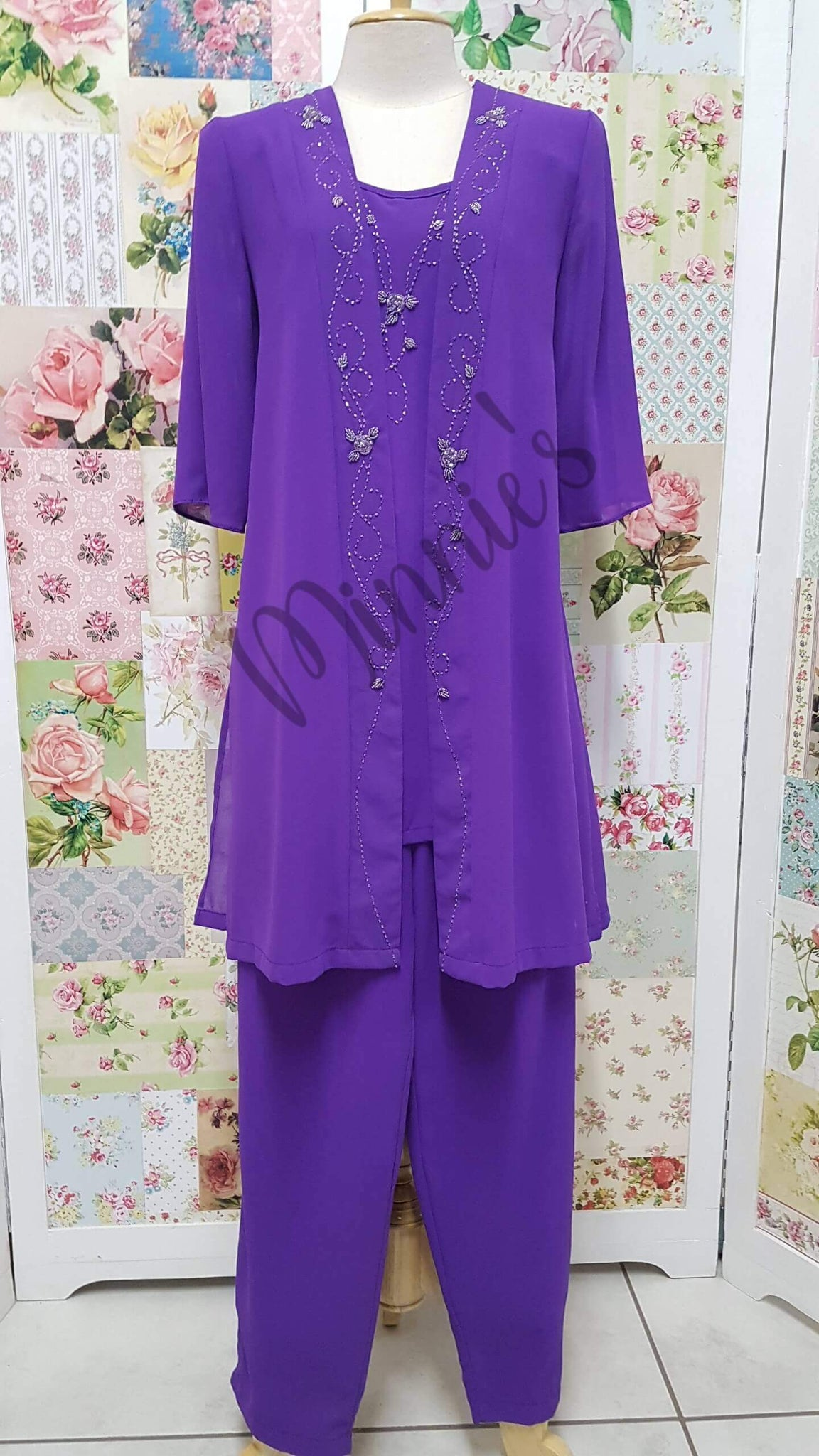 Purple 3-Piece HE05