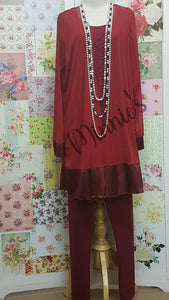 Maroon 4-Piece GD025