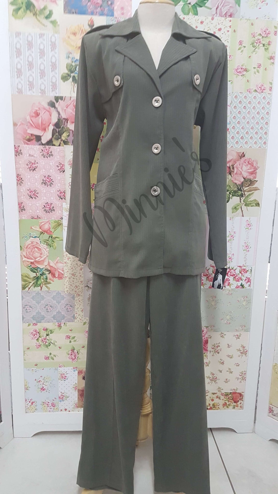 Olive Green 2-Piece BS097