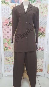 Brown 2-Piece BS098