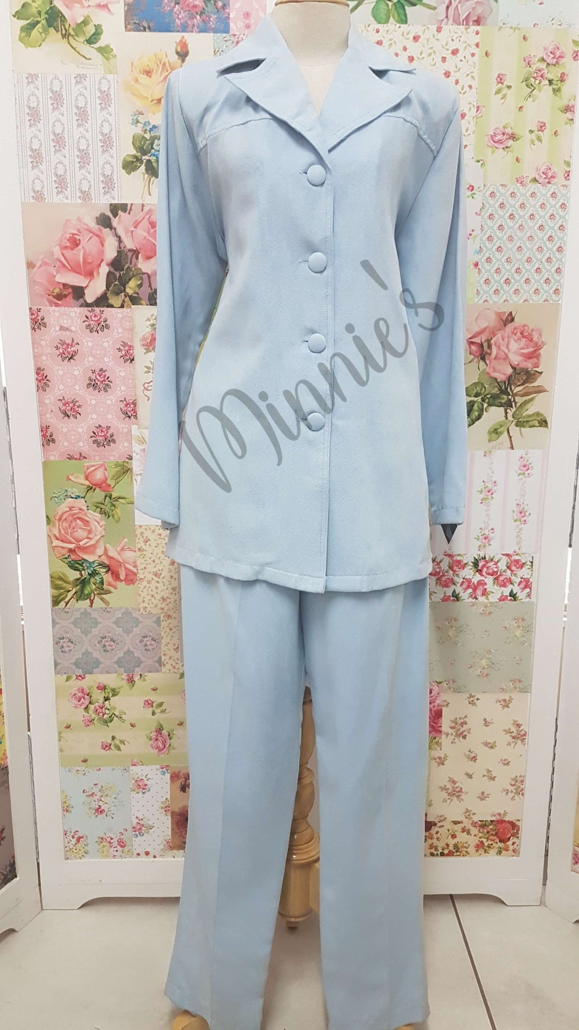 Baby Blue 2-Piece BS086