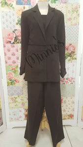 Chocolate Brown 3-Piece BS089