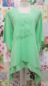 Lime Green Top BT082