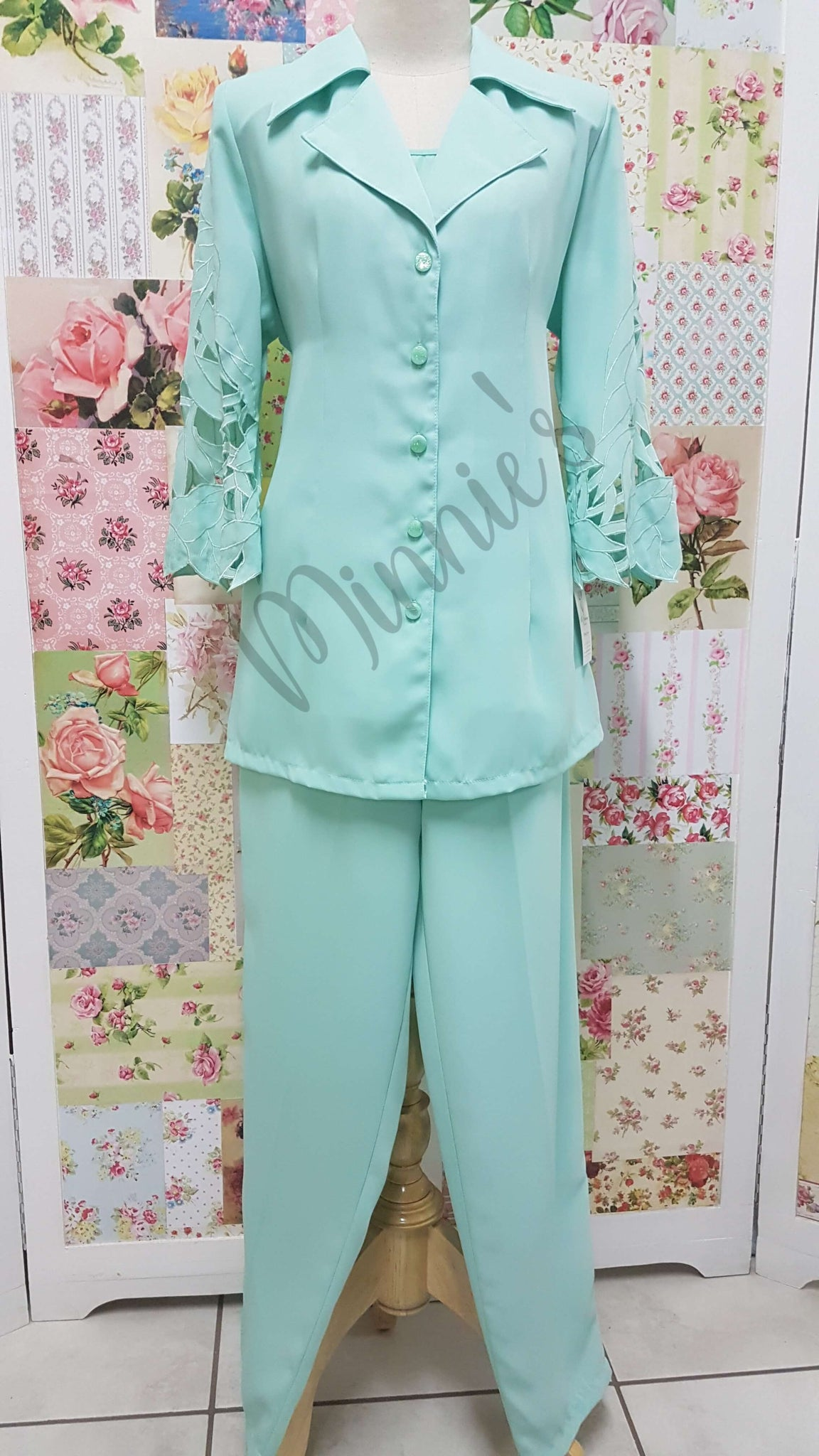 Mint Green 3-Piece BS058
