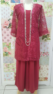 Maroon 3-Piece BT042