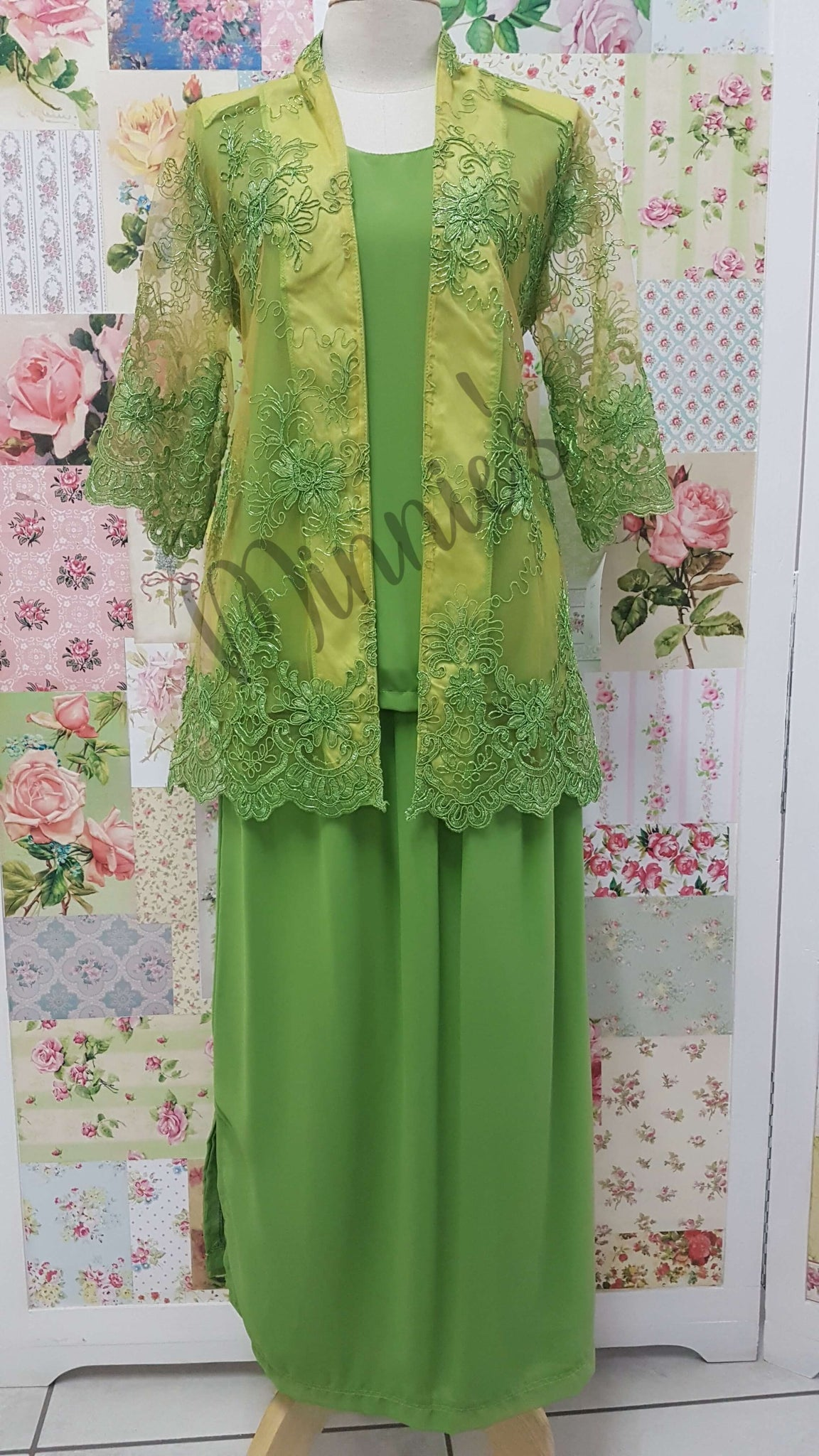 Lime Green 3-Piece BT030
