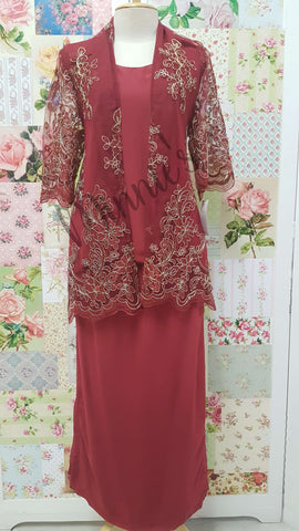 Maroon 3-Piece BT034