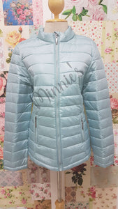 Mint Green Puffer Jacket BU0420