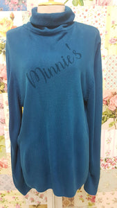 Teal Knitted Top BU0112