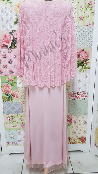 Soft Pink Dress AC087