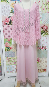Soft Pink Dress AG087