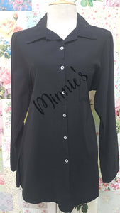 Black Blouse AC013