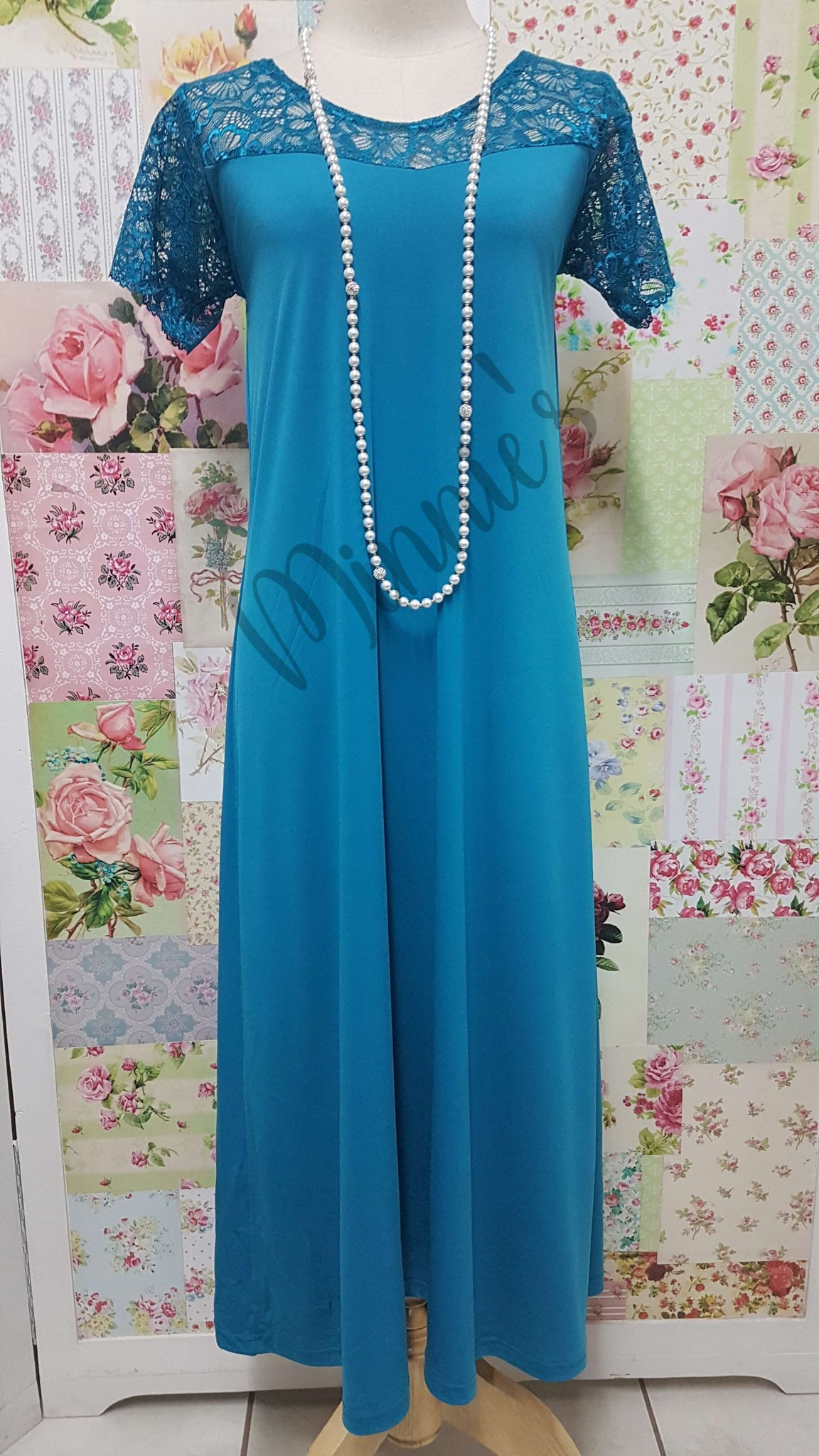 Teal Dress CH0672