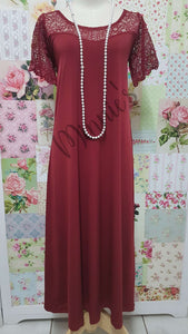 Maroon Dress CH0682