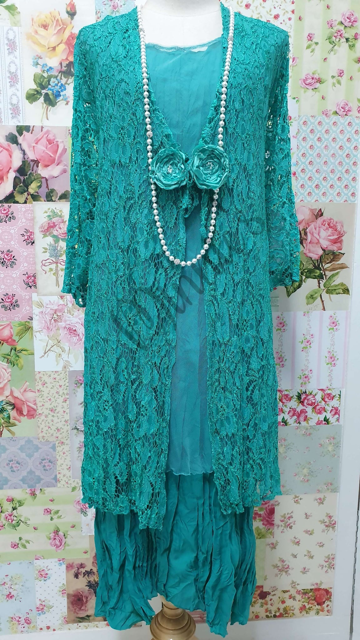 Emerald Green Dress LR0481