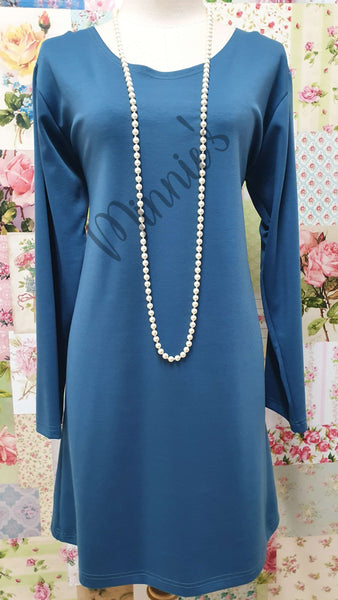 Petrol Blue 2-Piece Top CH0138
