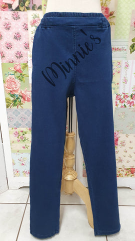 Blue Denim Pants BA010