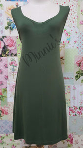 Olive Green Top SH012