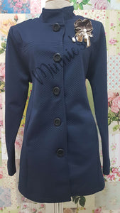 Navy Blue Jacket BU0443