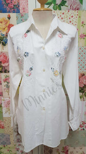 White Blouse BU0163