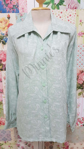 Mint Green Blouse BU0156