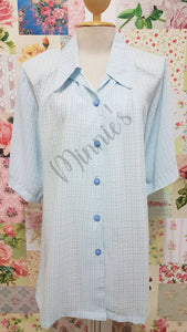 Baby Blue Blouse BT086