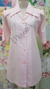 Pink & White Blouse BT0189
