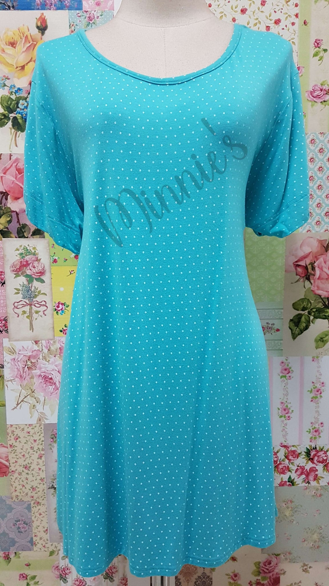 Turquoise Top BE026